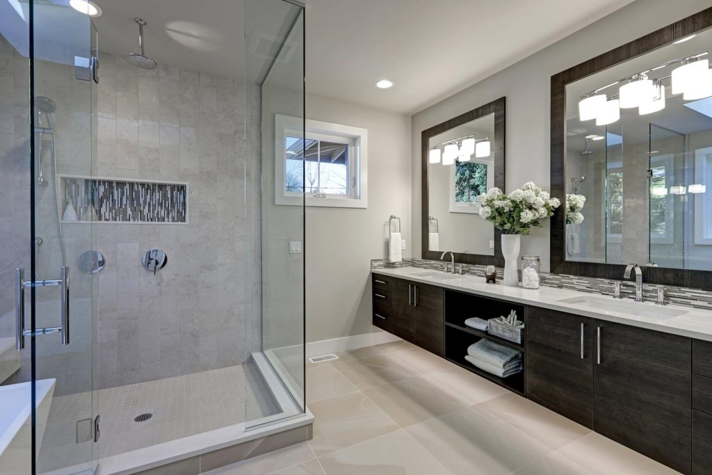 Luxglass Custom shower and mirror